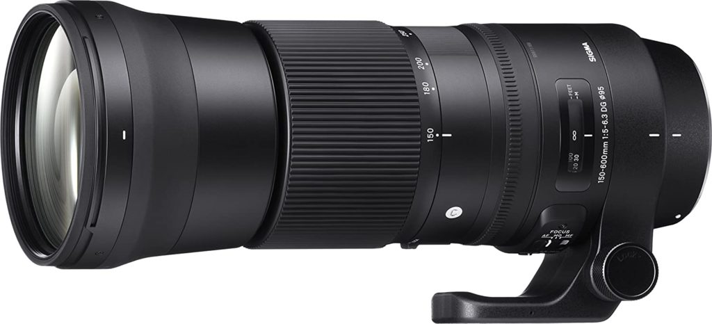 Sigma Objectif 150-600 mm F5-6.3 DG OS HSM Contemporary