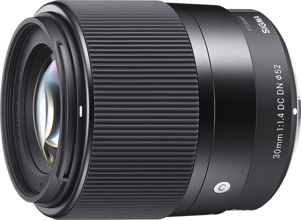 SIGMA 30mm f/1.4 DC DN pour SONY FE